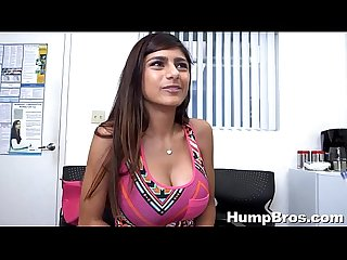 Mia khalifa auditions to be porn star