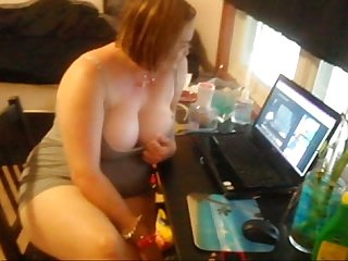 Slut teases pleases and pisses