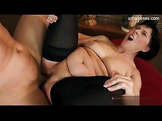 Butt fucking mature