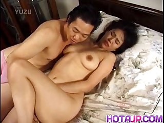 Japanese Av model loves having her pussy fucked hard