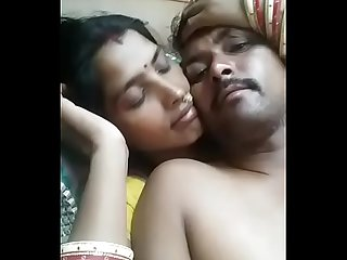 Indian Wife Kiss Her Husband