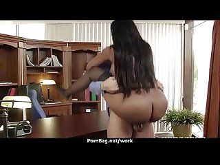 Big titted office MILF fucks at work 22