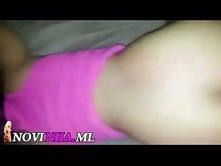 Novinha fudendo com um jumento de 30cm