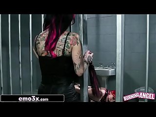 Burning Angel's Anal Slave - Amber Ivy, Joanna Angel