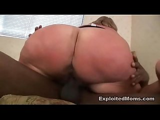 Milf Big Butt takes on a Big Black Cock in BBW Big Ass Video