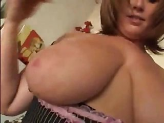 Curvy big tits mommy loves anal