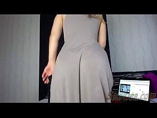 Sexydea live show twerk tease cum