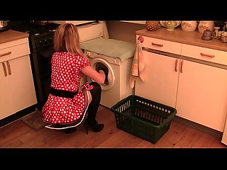 Hairy pussy kitchen whisk extreme gaping vaginal insertion groe insertionen