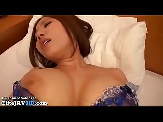 Japanese wife with huge boobs pantyhose sex more at elitejavhd com