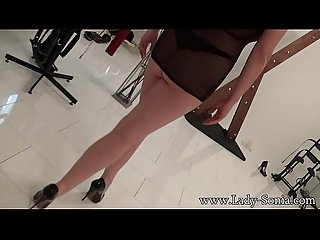 Mrs parker scott Playtime in high heels