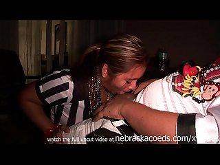 Real fantasy fest amateur couple hookup video