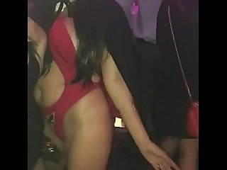 Vampirella stripping in vegas