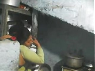 Desi milf sex at kitchen