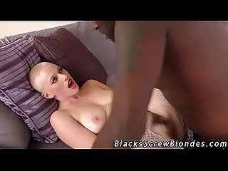 Teen railed by black cock