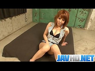 Japanese rui shiina gets shared by two horny males