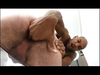 Hairy interracial