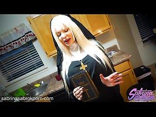 Sabrina Sabrok xxx nun halloween fuck