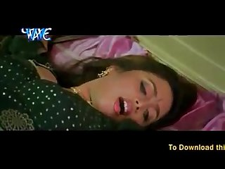 Hot video clip naughty lovers bed scene hot Saree navel kiss