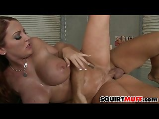 Sophie Dee squirting pussy