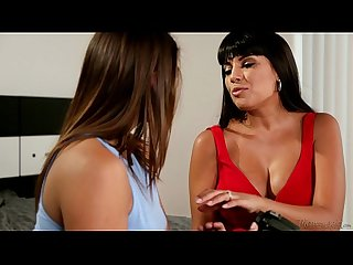 Sara luvv and mercedes carrera at mommy s girl
