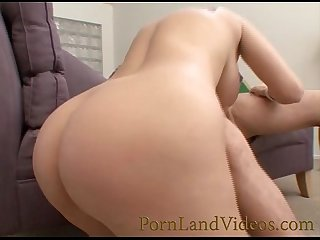 Horny milf cumshot on big boobs
