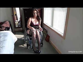 Wheelchair porn be my slave sexy Para
