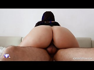 Big Booty Fuck Fat Cock and Sucking Swallow Cum