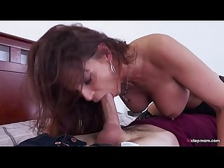 Bossy stepmom makes her son fuck her ass excl syren de mer