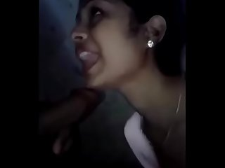 Bengali girlfriend Giving blowjob