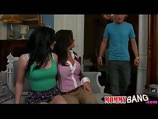 Veronica avluv and Jenna ross Ffm orgy in the living room