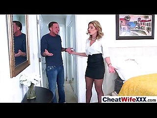 Real Slut Wife (cory chase) Like Cheating In Hard Style Sex Tape video-10