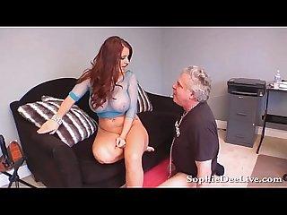 Lick mistress sophie dee wet pussy slave