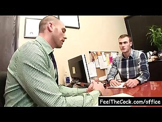 Gay office guys fucked at work video05