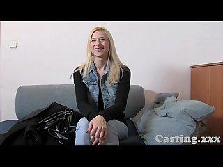 Casting hd surprise tit wank