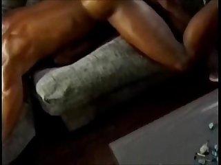 Vintage ebony gay hardcore