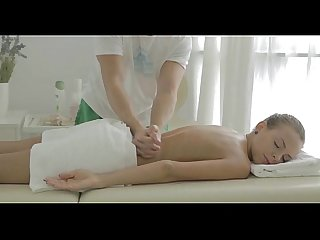 Giving hot massage pleases sweetheart