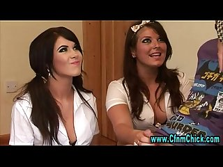 Cfnm horny schoolgirls and their Mommy
