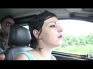 Zahia la pute se fait dfoncer sur un parking