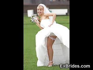 Real naughty brides