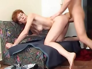Mother in law with glasses and great butt seduces her son in law lbrack 2 rsqb