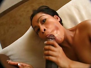 Dime piece Asian mei yu anal training with The bbc
