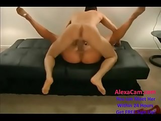 alura jensen dp and huge creampie