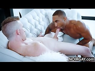 Black hunk fucks his white gf S gay brother