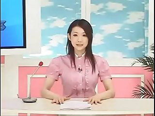 Japanese reporter fucked as she reports the news www period tubeempire period site