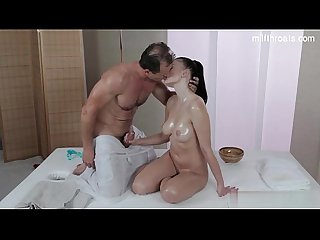 Sexy wife deepest throat