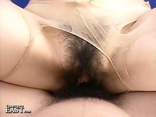 Uncensored japanese erotic pantyhose fetish sex