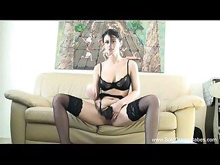 Sweet tits brunette Milf