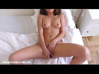 Jimena Lago uses her vibrator while she has sex
