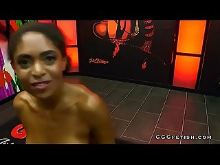 Brazilian ebony babe luna corazon gets cums with facials