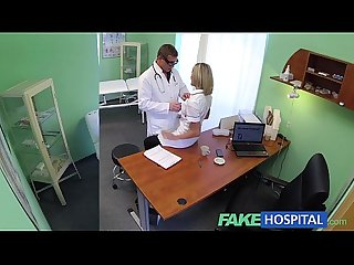 Fakehospital hot nurse rims her way to a raise